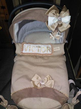 carrito de bebe capacho y silleta