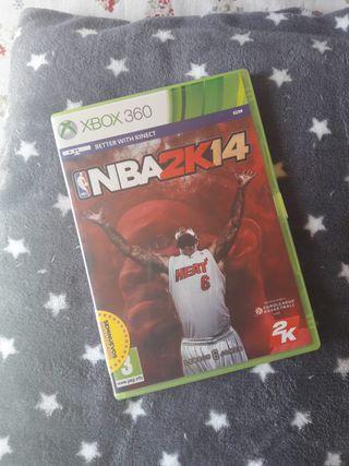 JUEGO NBA2K14 XBOX360
