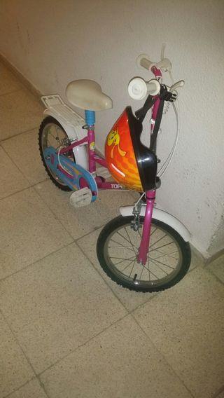 Bicicleta mas casco