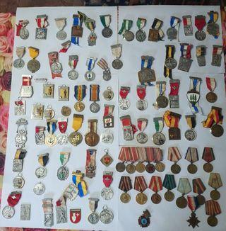 lote medallas/insignias