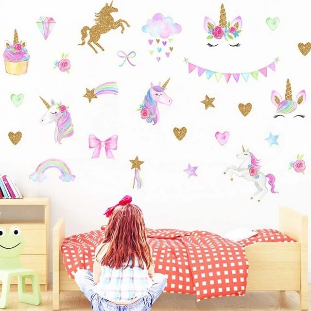 Vinilo unicornio pared