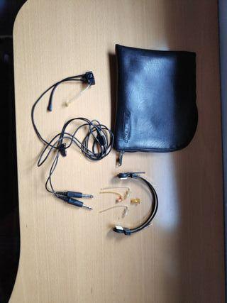 cascos, auriculares Telex 5x5 Pro III
