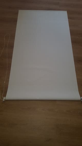cortina enrollable estore 95 cm marfil