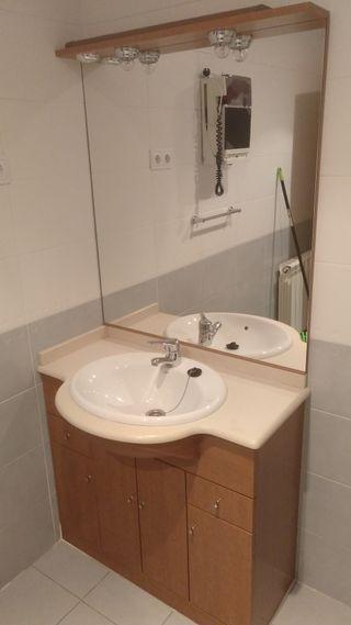 lavabo completo de 90cm