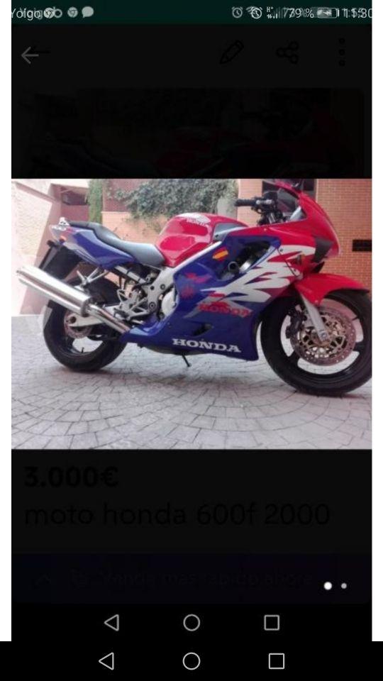 moto carreras 600 cc o cambio