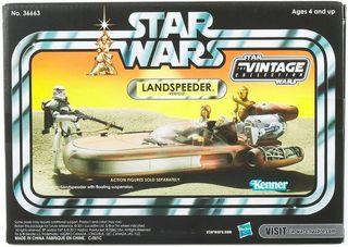 Star Wars Landspeeder vintage collection