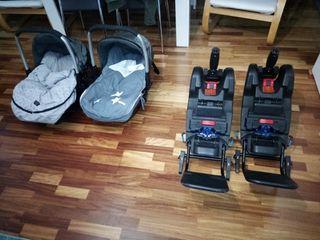 silla de bebe grupo 0 para coche con isofix