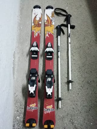 esquís, botas y bastones niño/a