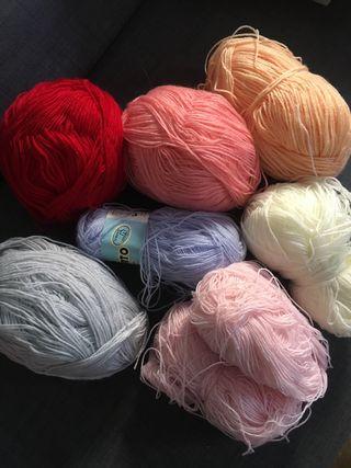 Ovillos lana