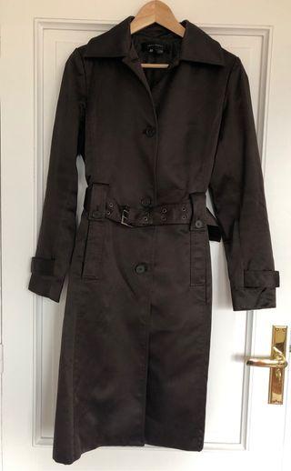 Gabardina marrón Zara
