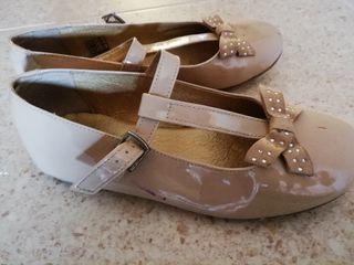 Zapatos charol piel