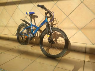 bicicleta de montaña niño poco uso