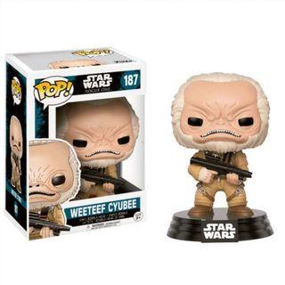 Figura POP Star Wars Rogue One Weeteef Cyubee