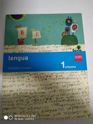 Libros de texto lengua 1°- SM