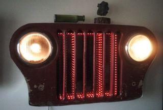 Lampara Jeep