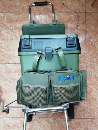 Carro - bolsa para la pesca