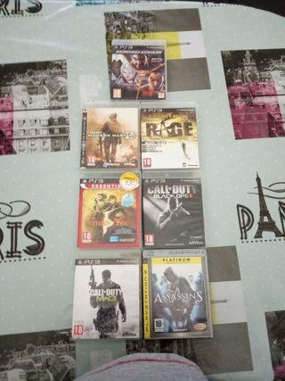 juegos de play 3 originales todos por 30 pavos