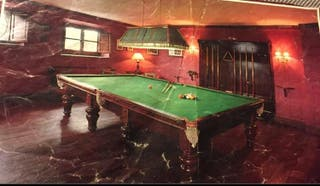 Mesa de billar inglés snooker