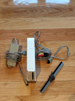 Wii con diez juegos + 2 mandos + Wii Fit