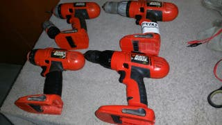Taladros black and decker lote