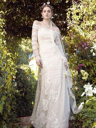 Vestido novia marca YolanCris, talla 42