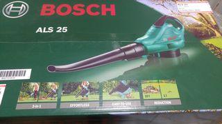 soplador aspirador de hojas bosch