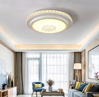 Lámpara LED de techo salon redondo