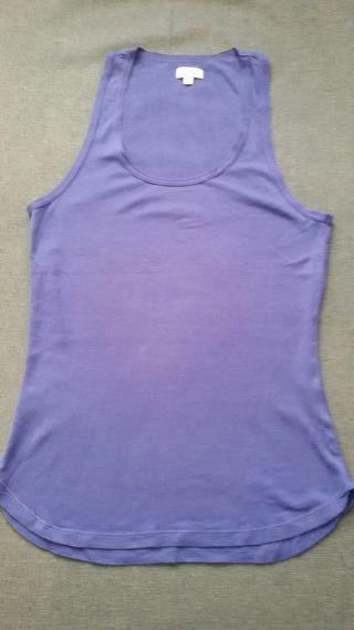 Camiseta tirantes azul Hoss Intropia talla L