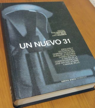 "Libro. Historia Vasca.""Un nuevo 31"""