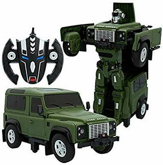 Coche radiocontrol Land Rover transformable
