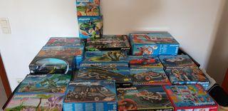 Playmobil cajas,soldados,lote,coches,carroza,sudis