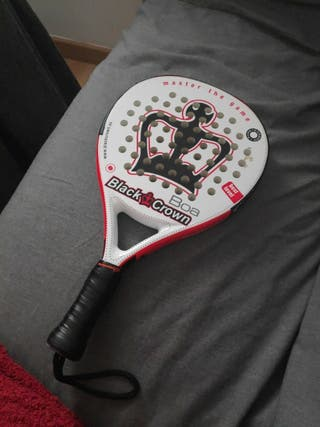 Pala padel Black Crown