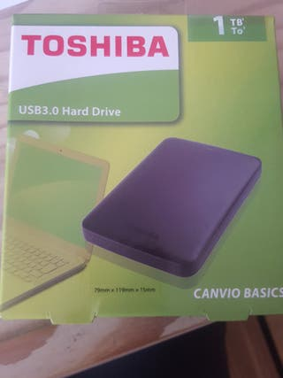 disco duro externo Toshiba 1tb nuevo