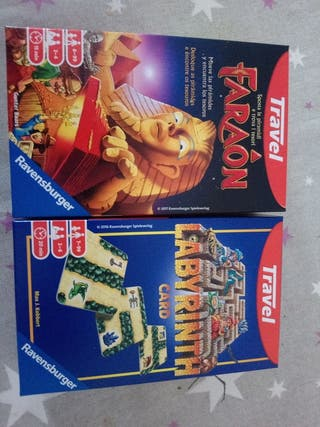 pack juegos faraon y laberint version pocket