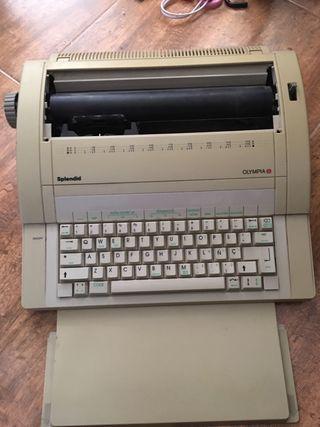 Maquina escribir electronica Olympia