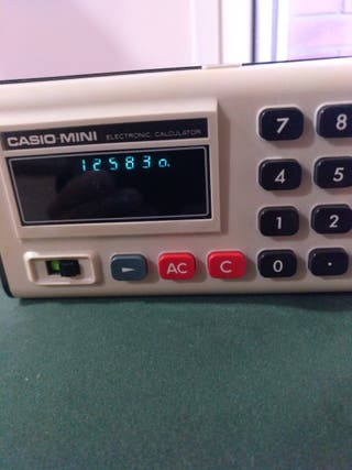 Casio Mini Electronic Calculator