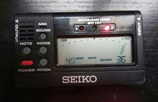 Afinador Seiko digital