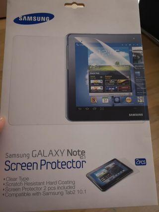 protector de pantalla Samsung Galaxy note 10.1