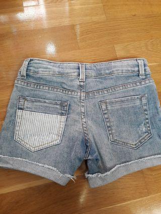 zara niña pantalones cortos