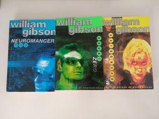 Libros Trilogía de Sprawl (William Gibson, inglés)