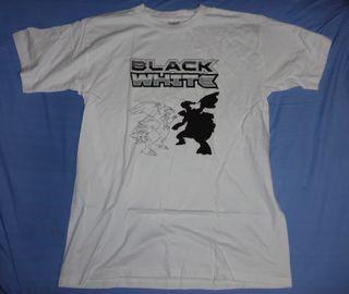 Camiseta POKEMON Black White