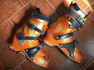 Botas esquí de travesía número 27