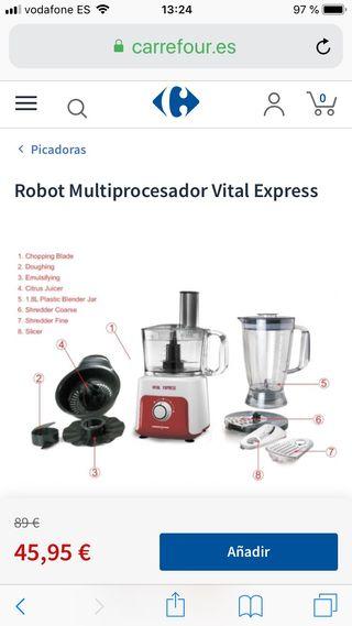Robot multiprocesador Vital Express