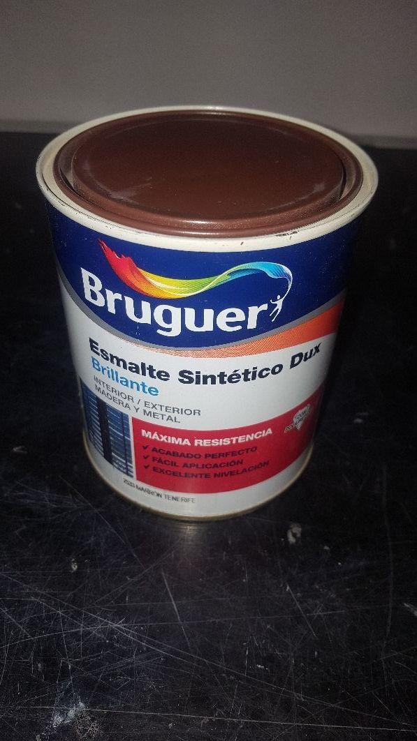 decoracion pintura esmalte bruguer 1 kg nuevo.