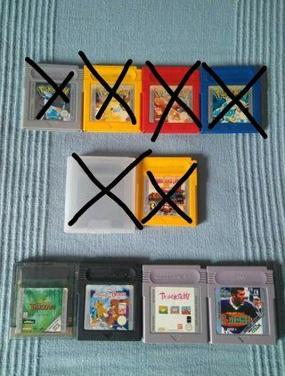 Lote de juegos Game Boy