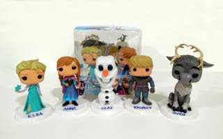 Frozen figuras personajes