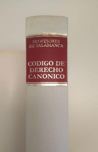 Libro CÓDIGO DE DERECHO CANÓNICO
