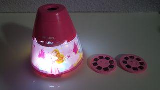 Luz de noche y Proyector Princesas Disney