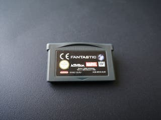 videojuego Los 4 fantástico para GBA Nintendo