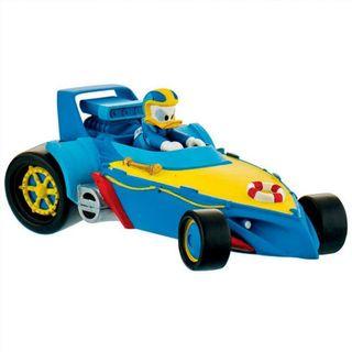 Figura corredor Donald coche Mickey Racer Disney